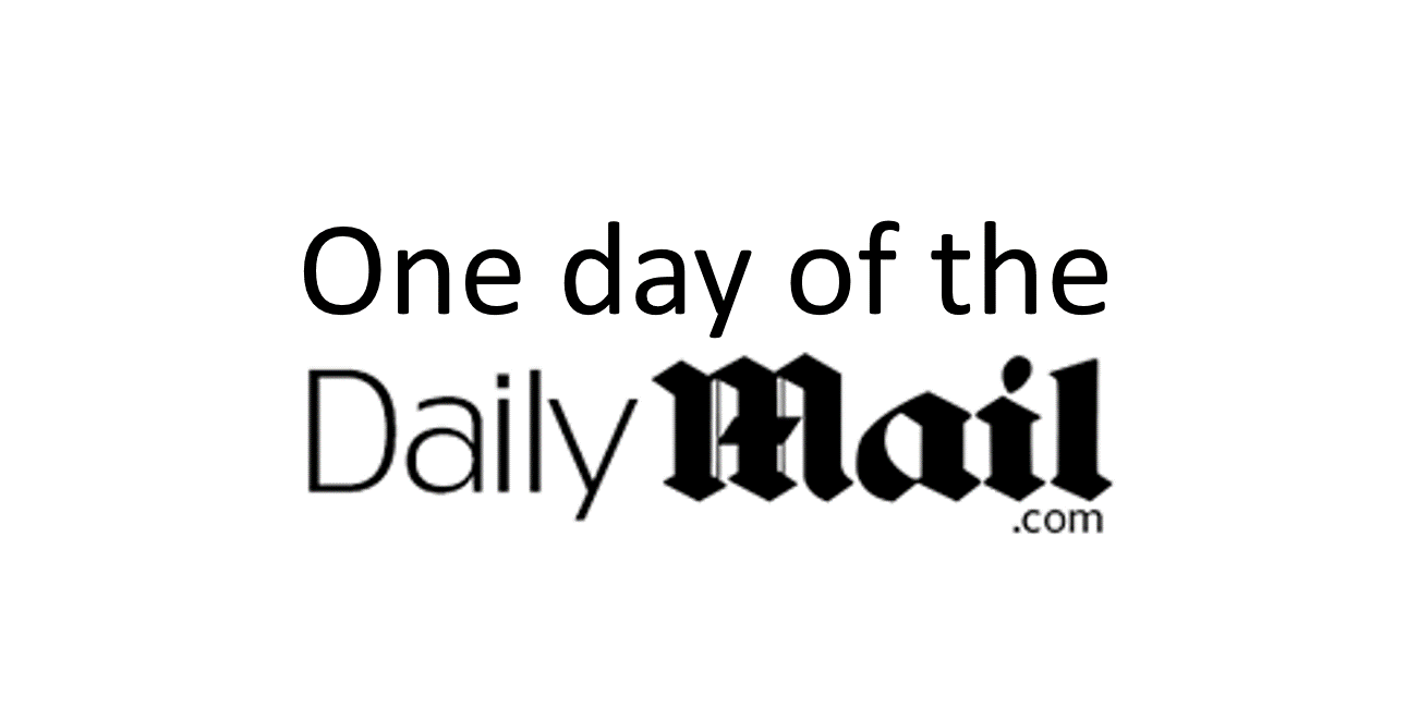 One day of the daily mail online december the 2nd 2016 the daily mail online published 885 articles ive listed them below with each article at approximately 700 words together they biocorpaavc Image collections